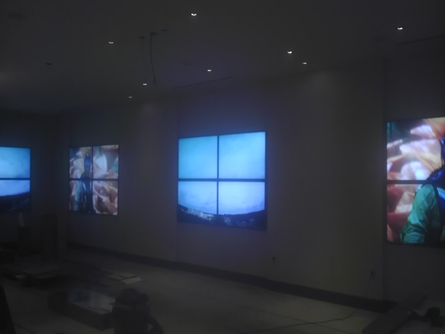 "9 110"" Video Walls Tampa Family Room"