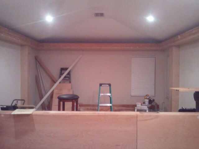 Home Theater In Progress